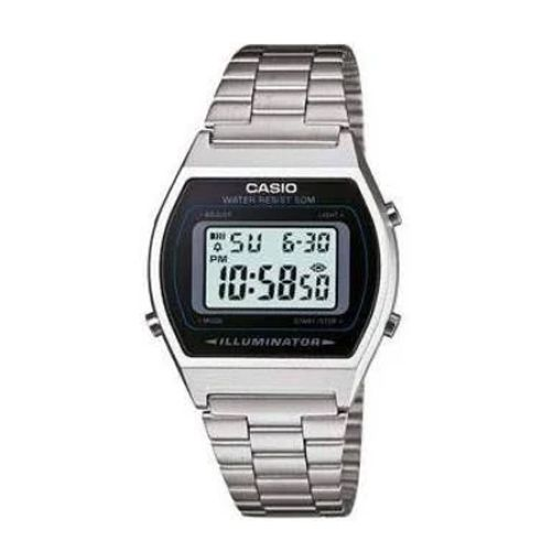 Relógio Casio Unissex Digital Vintage B640WD-1AVDF