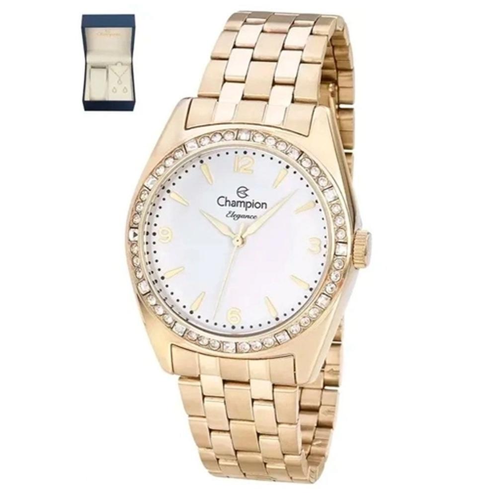Relógio Champion Feminino com Cristais CN24208W