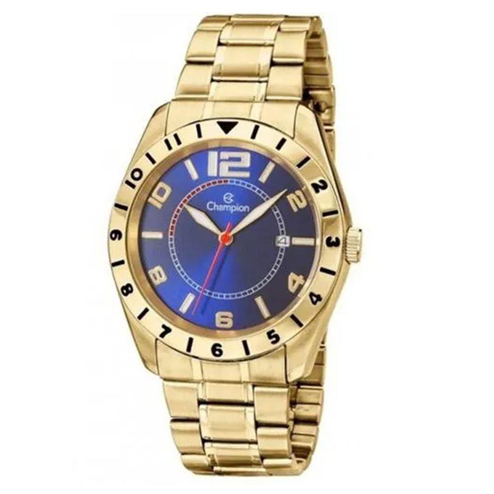 Relógio Champion Masculino Dourado CA30187A