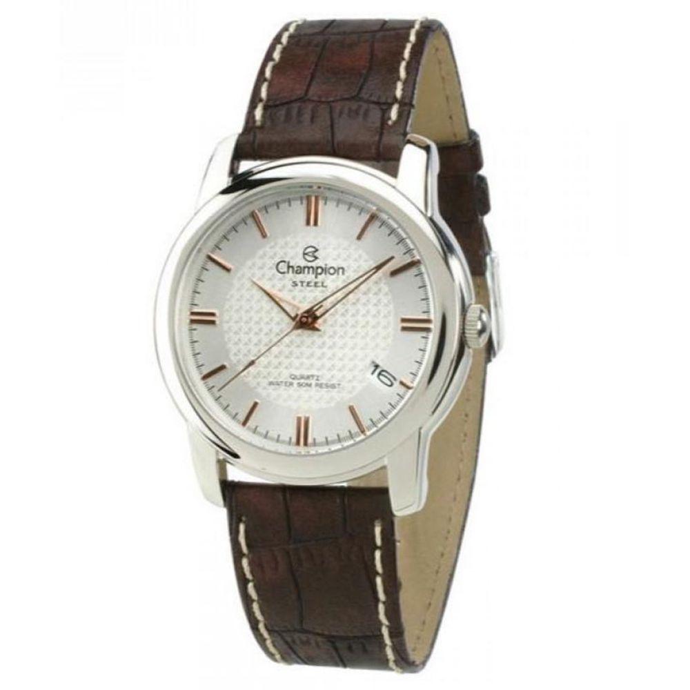Relógio Champion Pulseira de Couro CA20545Q