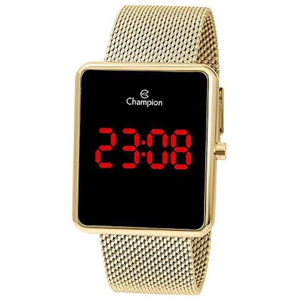 Relógio Champion Unissex Digital Dourado CH40080V