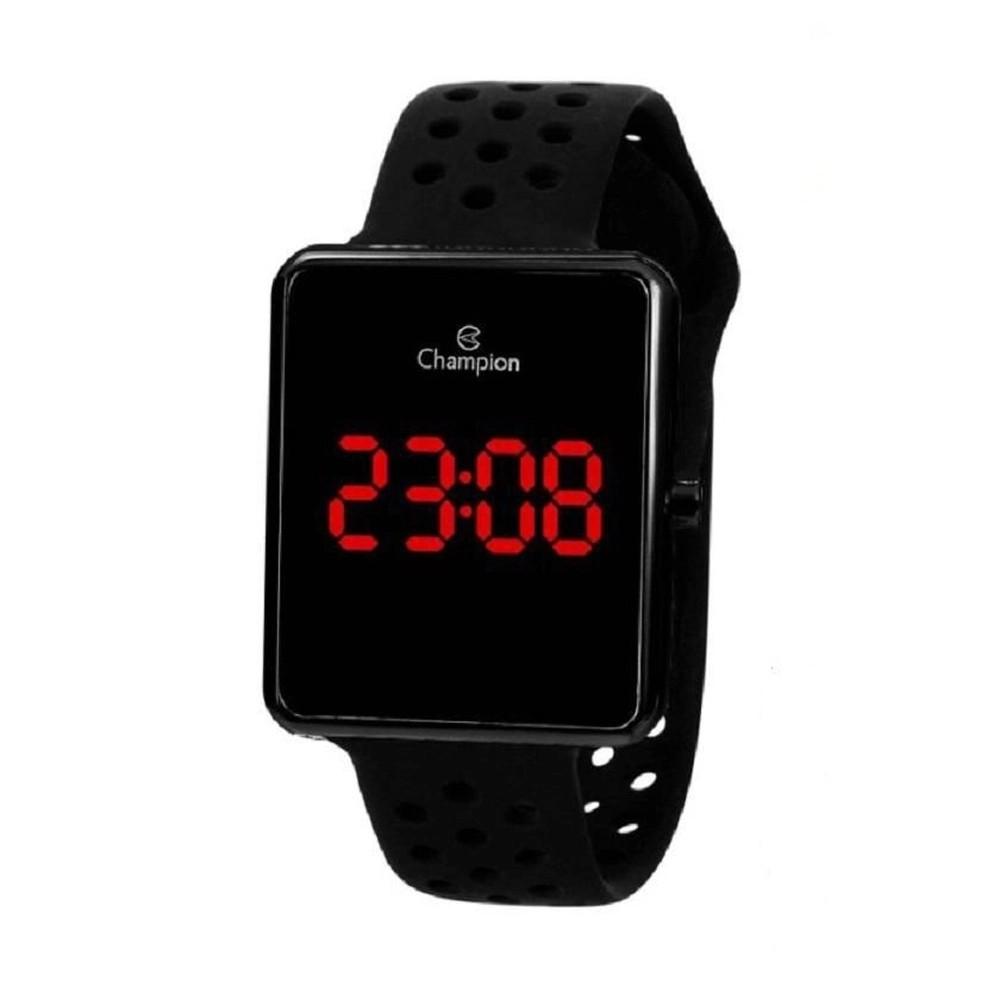 Relógio Champion Unissex Preto CH40081D