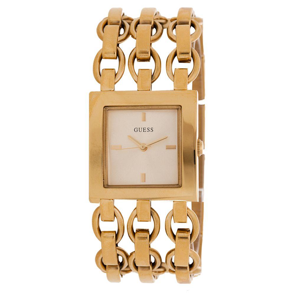 Relógio Guess Feminino Dourado 92515LPGLDA1