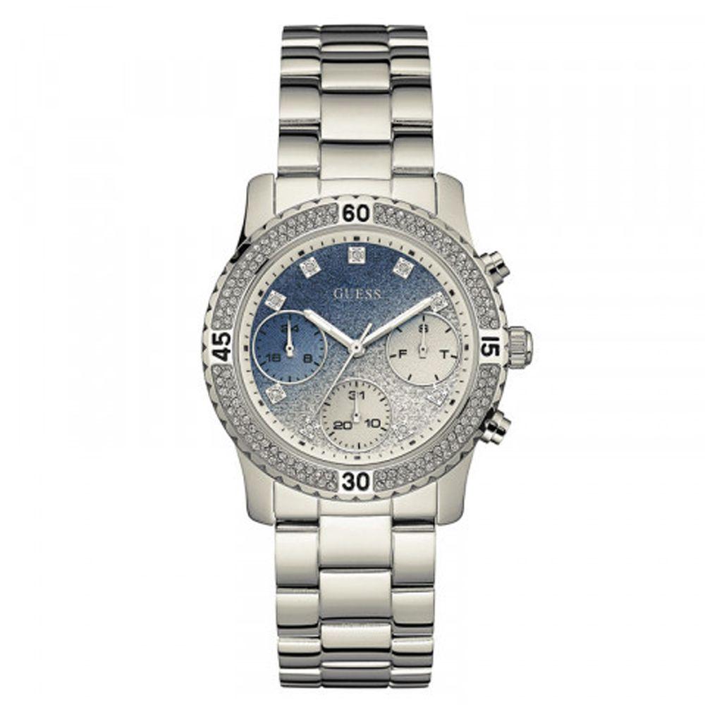 Relógio Guess Feminino Prateado 92595L0GSNA7