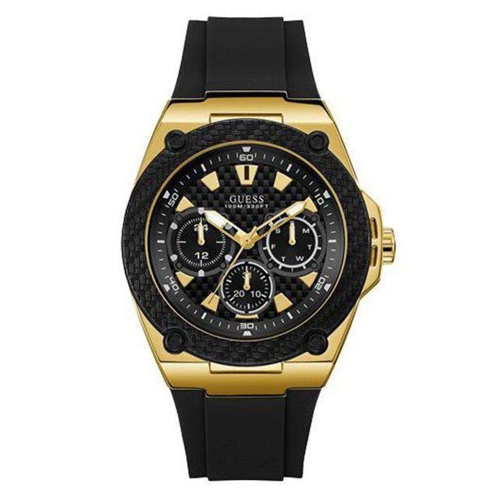 Relógio Guess Masculino Pulseira Preta 92676GPGSHU5