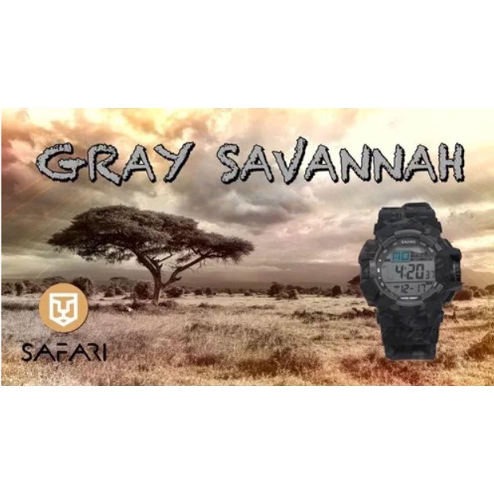 Relógio Masculino Esporte Safari Gray Sanannah