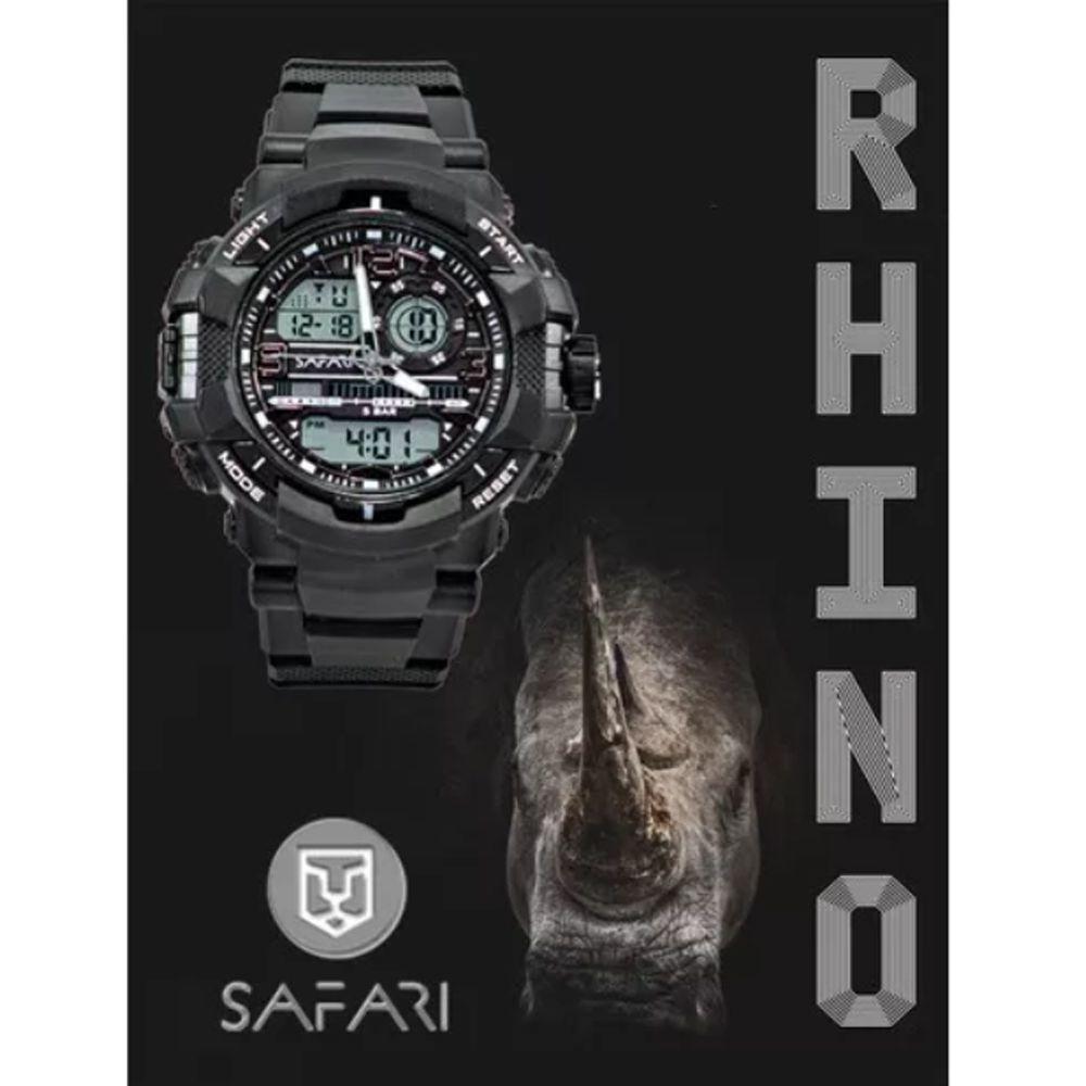 Relógio Masculino Esporte Safari Rhino