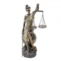 ESTÁTUA DAMA DA JUSTIÇA