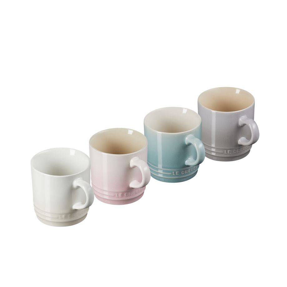 JOGO 4 CANECAS CAPPUCCINO 200ML CALM COLLECTION LE CREUSET