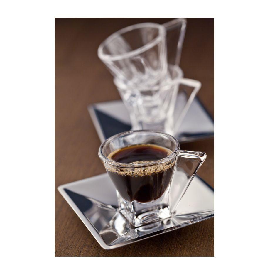 JOGO 6 XÍCARAS CAFE COM PIRES PRATA WOLFF