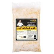 Sal de Parrilla com Alho - 400 g- Tempero para Churrasco - Cocina Mix - Econômica