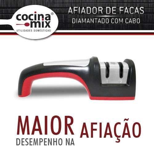 Afiador De Facas Diamantado com Cabo - CocinaMix