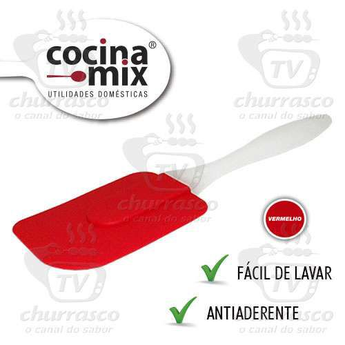 Espátula de Silicone - Tam. GD - CocinaMix - ESP0101-VM