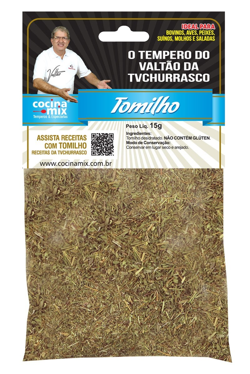 Kit Temperos - Churrasqueiro - 7 pacotes