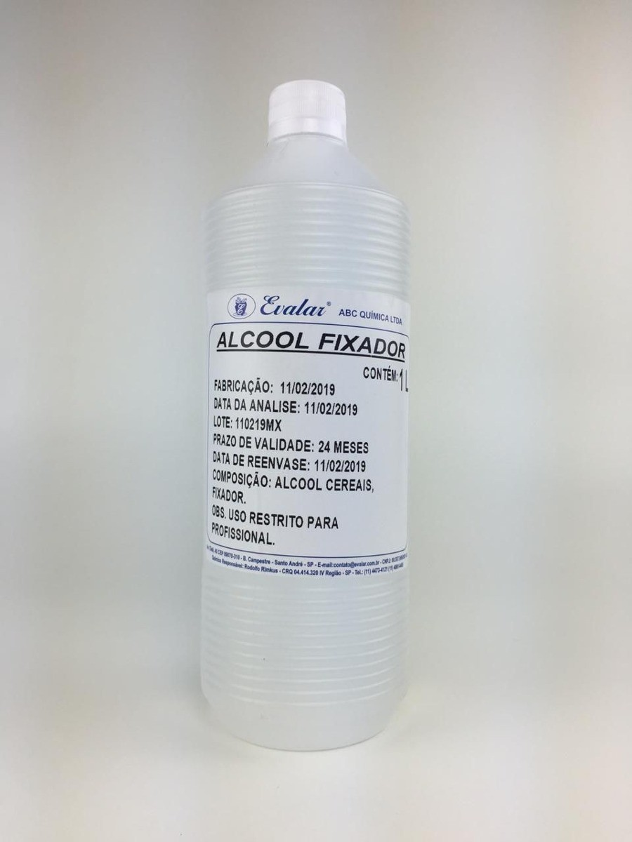 ALCOOL DE CEREAIS FIXADO 1L