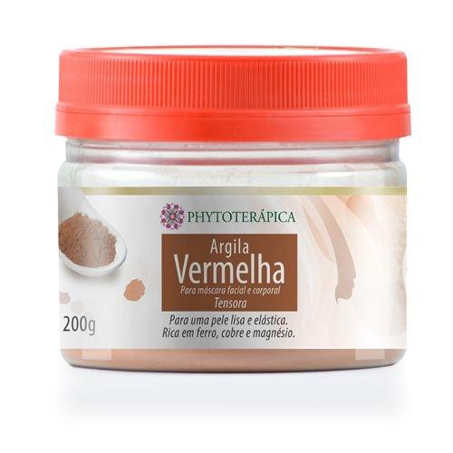 ARGILA VERMELHA 200GR - PHYTOTERAPICA