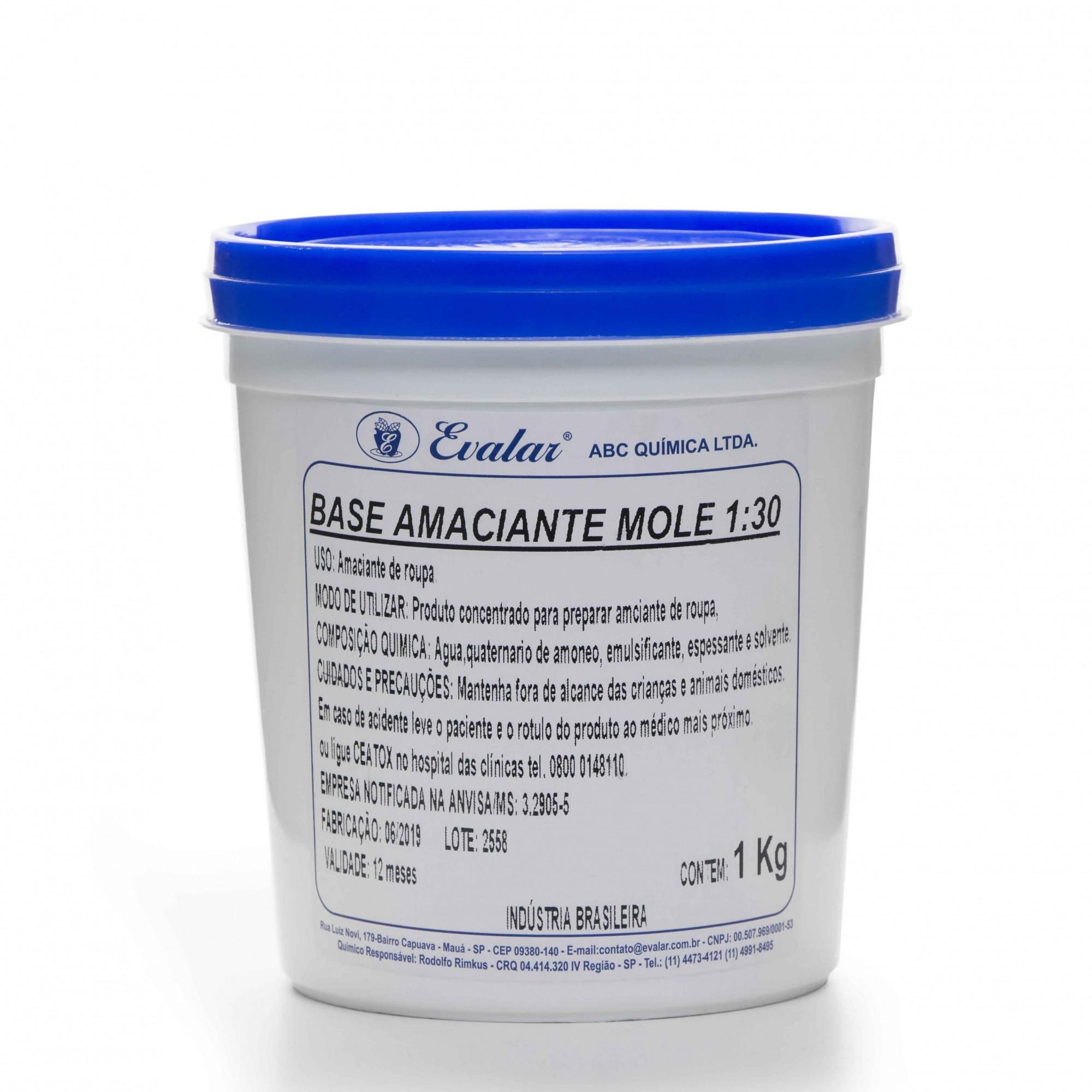 BASE AMACIANTE MOLE 1/30-KG