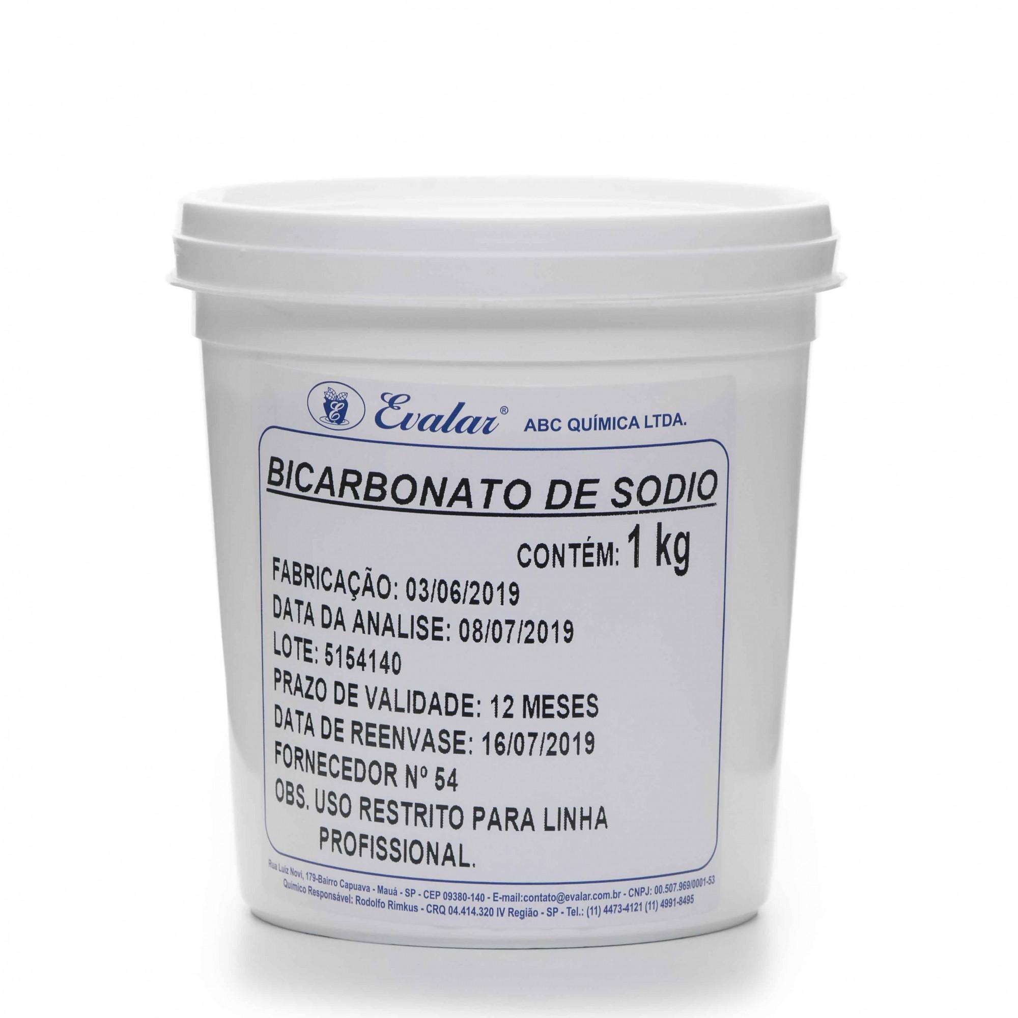 BICARBONATO DE SÓDIO 1KG