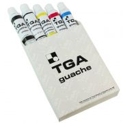 Guache TGA 05 Cores Básicas Bisnagas de 25ml