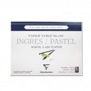 Papel Ingres Para Pastel Clairefontaine 18X24cm 25 fls