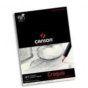Papel Manteiga Croquis A2 translúcido Canson