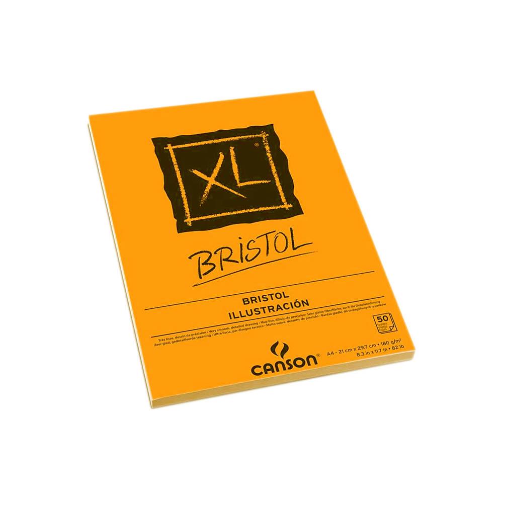 Bloco A4 Bristol XL 180g 50 Folhas Canson
