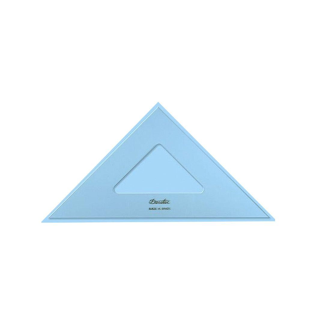 Esquadro Trident 2528 45° 28cm Sem Graduação