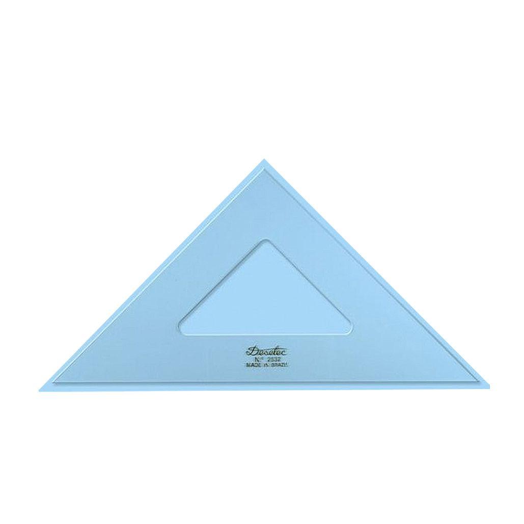 Esquadro Trident 2532 45° 32cm Sem Graduação