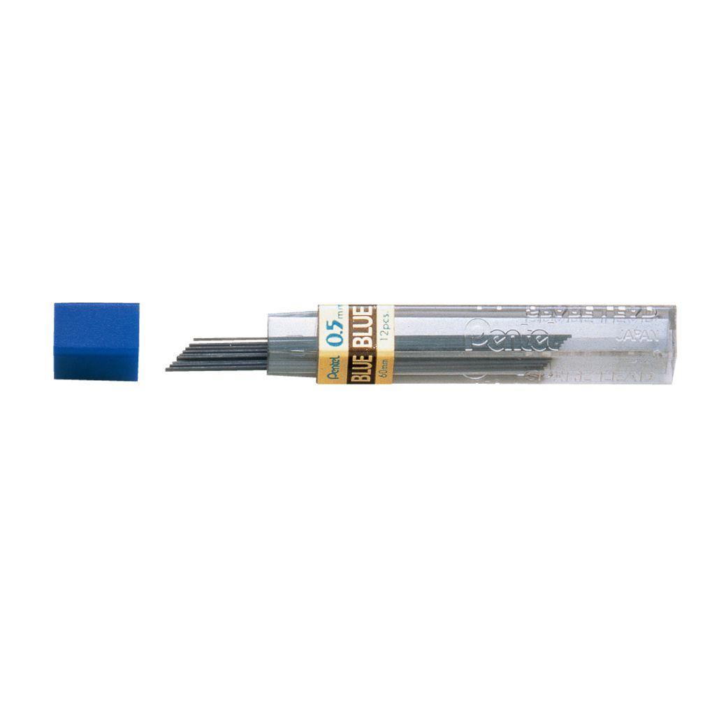 Minas grafite 0,5mm HB Azul Pentel