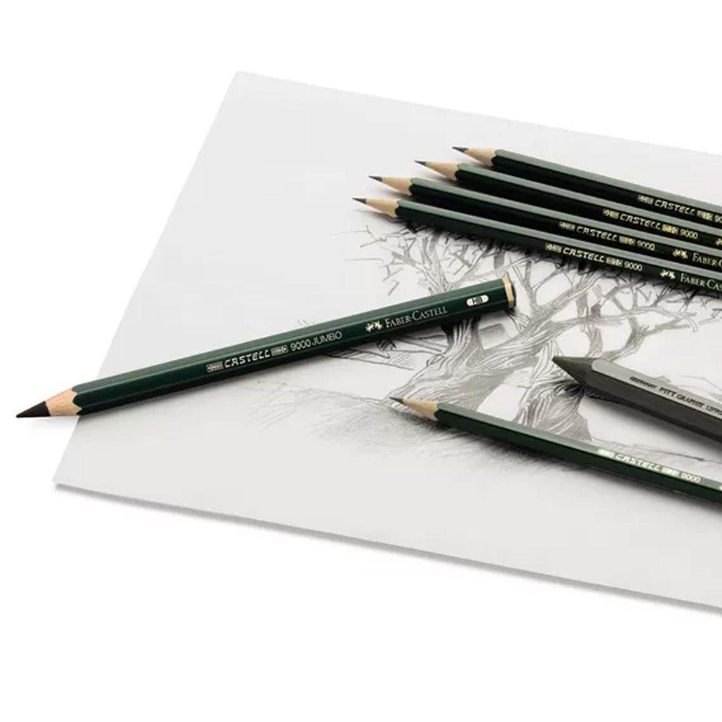 Lápis Grafite 6B Sextavado Faber-Castell 9000