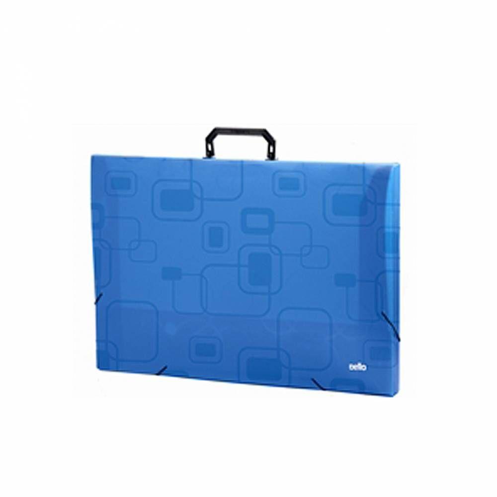 Maleta A3 DelloSmile Azul Lombo 3,5mm DELLO