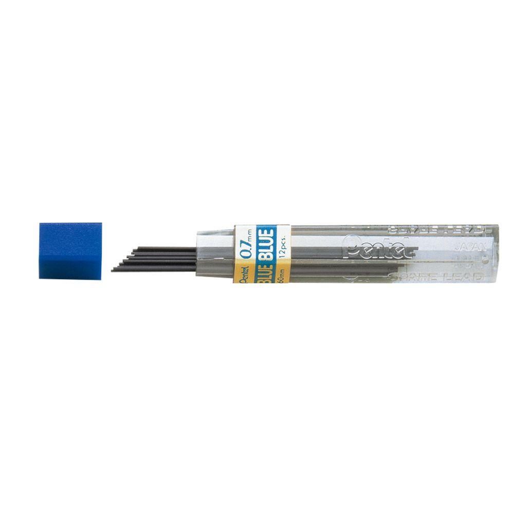Minas grafite 0,7mm HB Azul Pentel