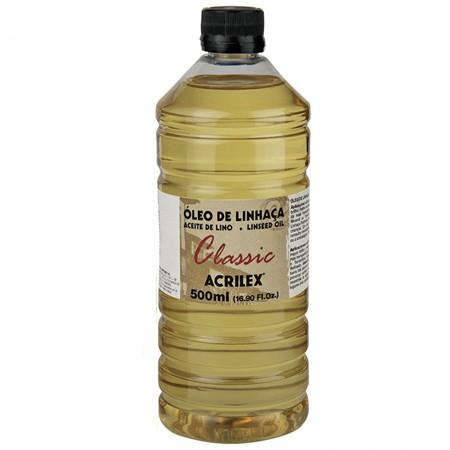 Óleo de Linhaça Acrilex 500ml