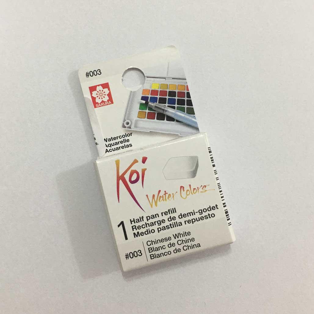 Refil de Aquarela em pastilha Koi Water Colors SAKURA