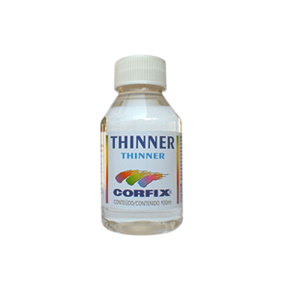 Thinner Para Limpeza e Diluição CORFIX 100ml