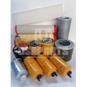 Kit filtros JCB JS160 Motor JCB (Kit Completo)