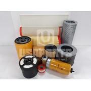 Kit filtros JS200 JCB Motor ISUZU Completo