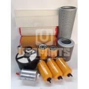 Kit filtros JS200 Motor JCB Completo