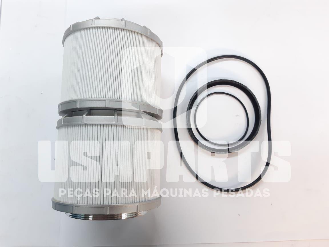 Filtro hidráulico JG 2 UND E135B/E175B/E215B/E245B/C YN52V01021P1