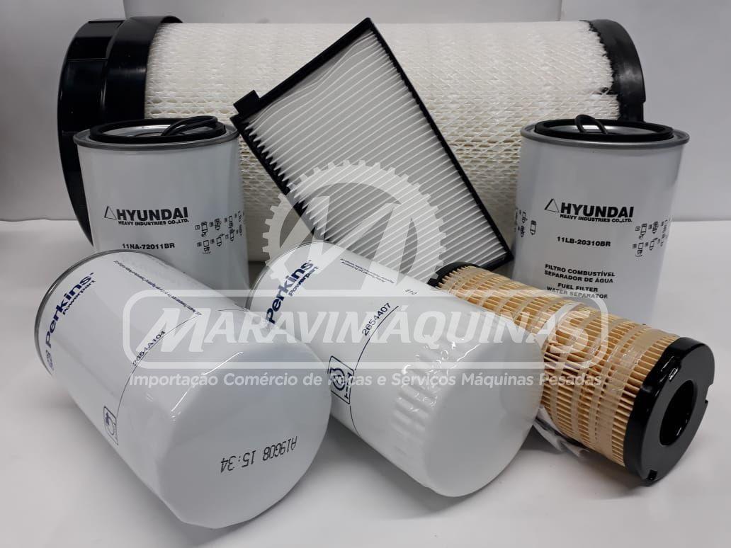 Kit Filtros Hyundai R140LC-9SB T3 500 Horas