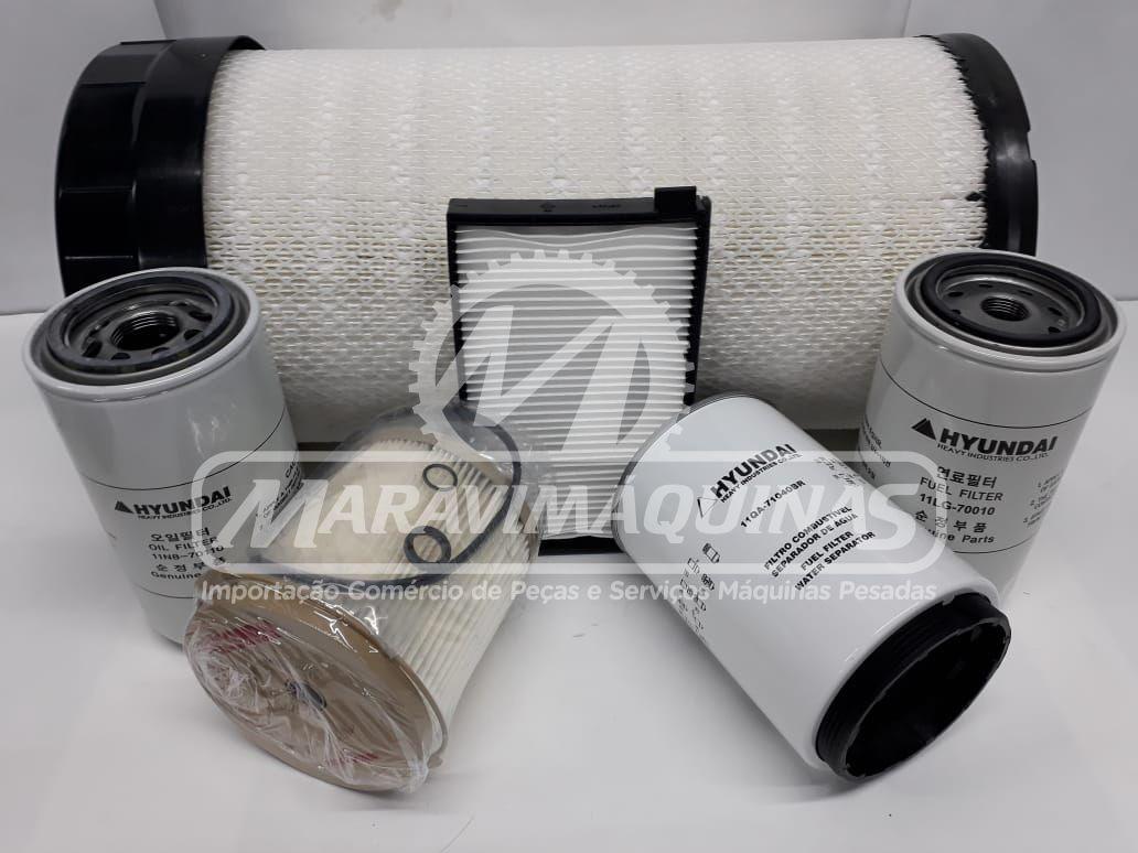 Kit Filtros Hyundai R220LC9SB T3 500 horas