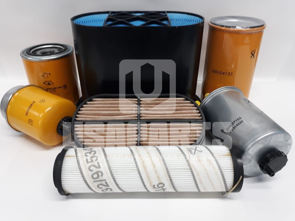 Kit FIltros JCB 3C Motor JCB
