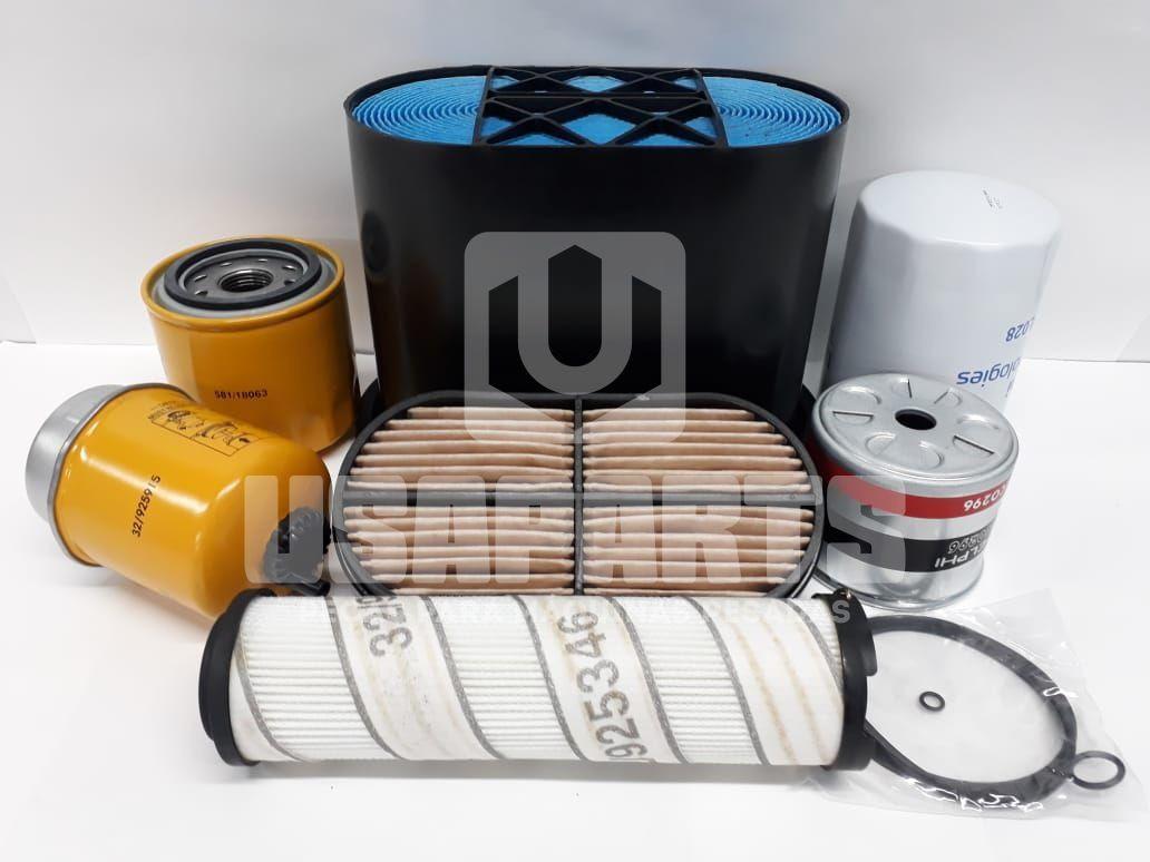 Kit Filtros JCB 3C Motor MWM