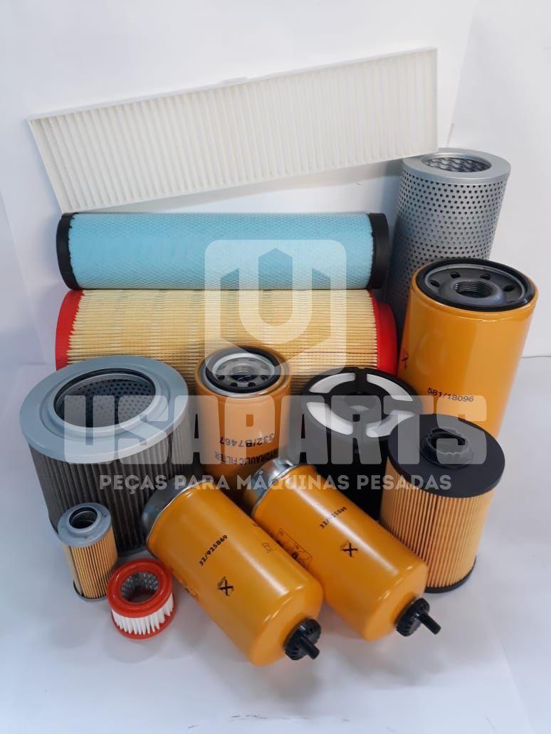 Kit filtros JCB JS160 Motor ISUZU  (Kit Completo)