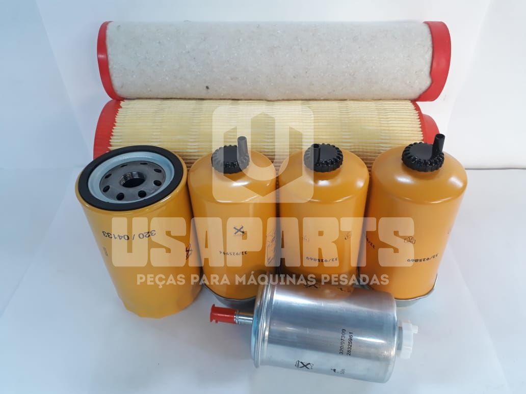 Kit filtros JCB JS160 Motor JCB