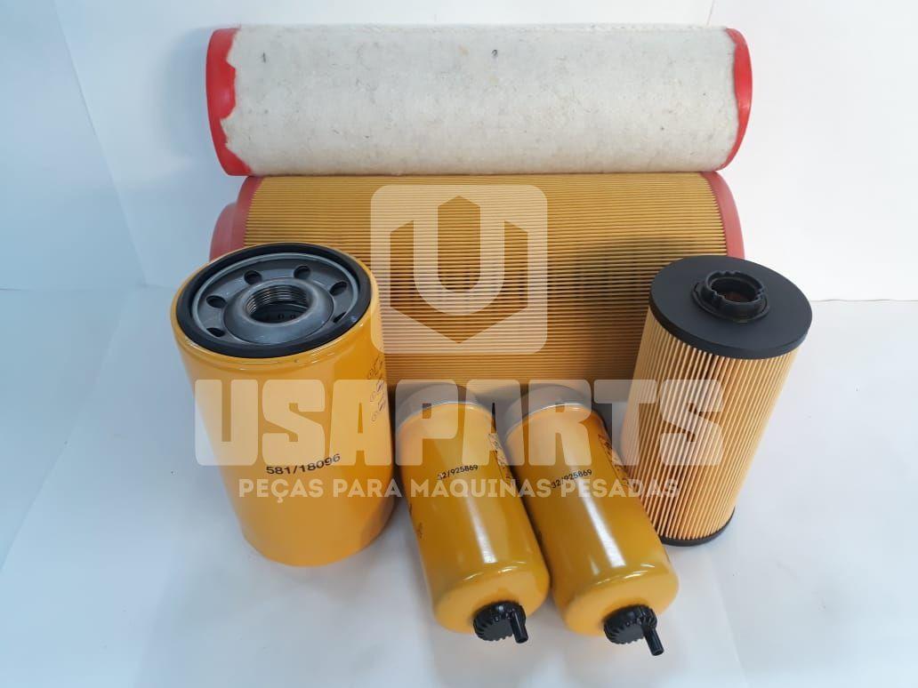Kit filtros JS200 JCB Motor ISUZU