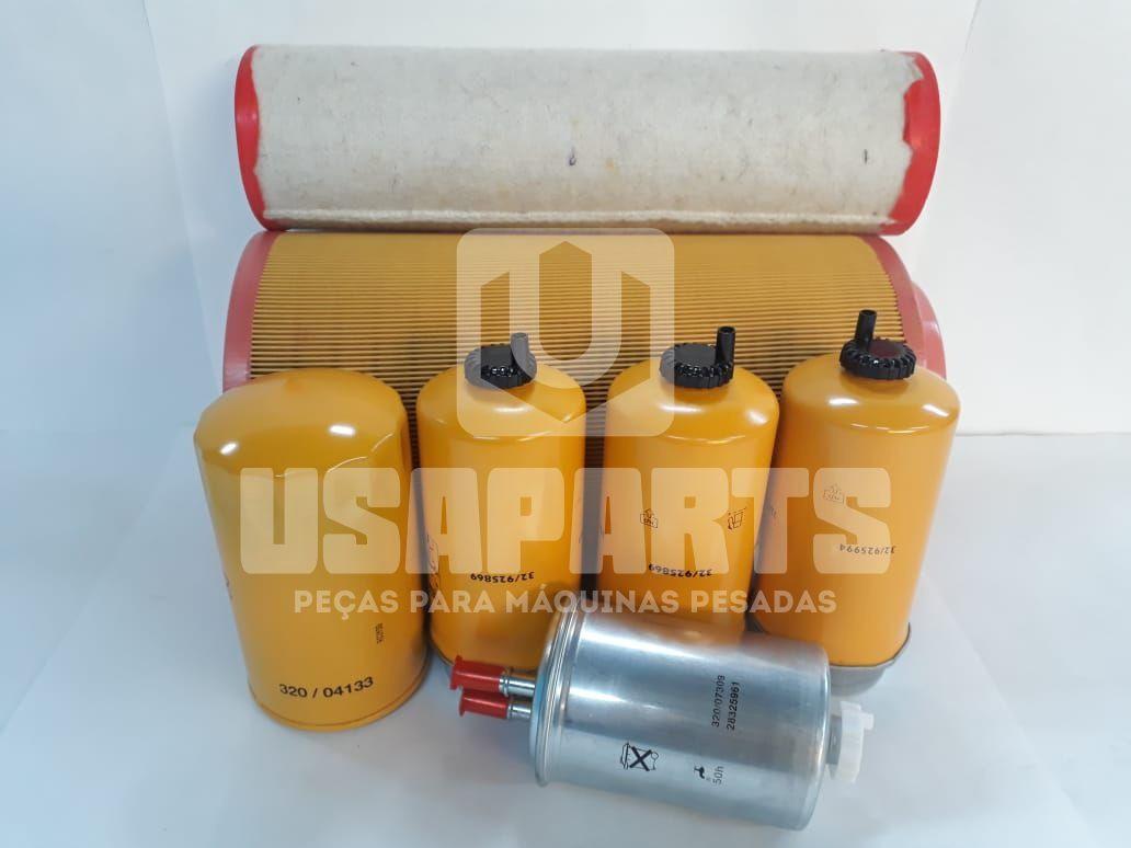 Kit filtros JS200 Motor JCB