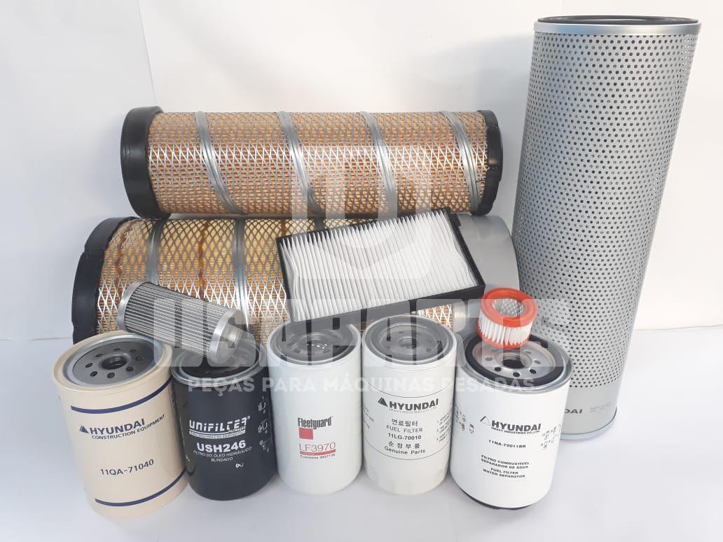 Kit Filtros R160LC9SB T3 Completo