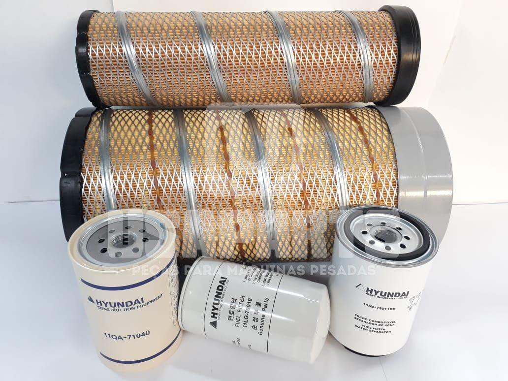 Kit filtros R160LC9SB T3 Motor