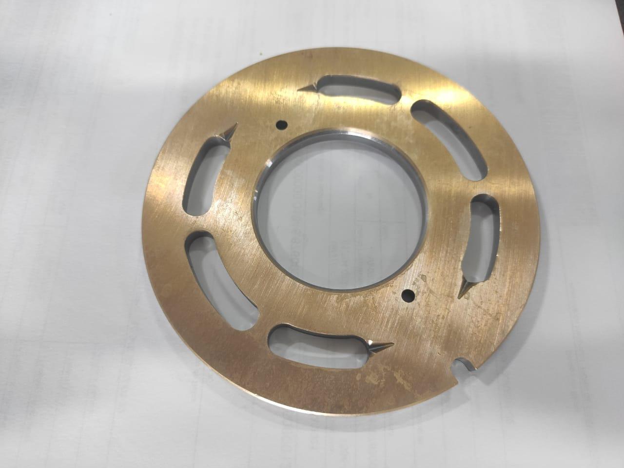 Placa válvula motor giro Komatsu PC160LC-7